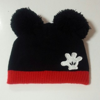 Disney - 子供ミッキー帽子 ニット帽