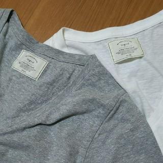 Ungrid - Ungrid☆VネックTシャツ2枚セット♪