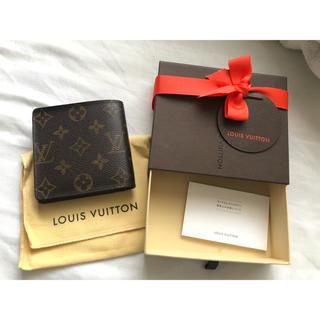 ルイヴィトン(LOUIS VUITTON)のルイヴィトン 二つ折り財布 箱付き(折り財布)