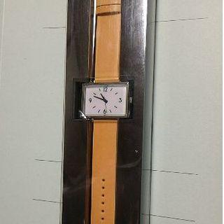 ムジルシリョウヒン(MUJI (無印良品))のMUJI 駅の時計(ヌメ革)(腕時計(アナログ))