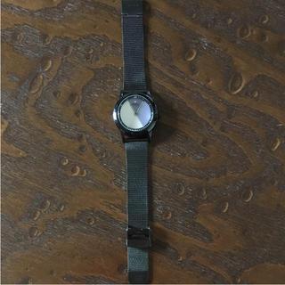 ヌーン(noon)のnoon 腕時計 ブラックandパープル(腕時計)