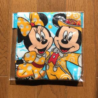 ディズニー(Disney)の新品未使用。ハンドタオル ディズニー(ハンカチ)