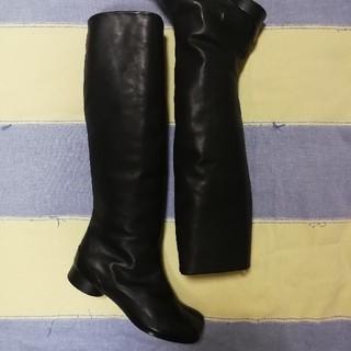 マルタンマルジェラ(Maison Martin Margiela)のよう様専用 未使用 マルジェラ ロング足袋ブーツ(ブーツ)