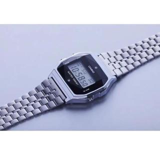カシオ(CASIO)の【限定品】A-159WAD-1 ダイヤ付きチープカシオ 【新品未使用】(腕時計(デジタル))