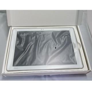 エルジーエレクトロニクス(LG Electronics)の③新品/未使用★SIMフリー★au Qua tab PZ 白 LGT32  (タブレット)