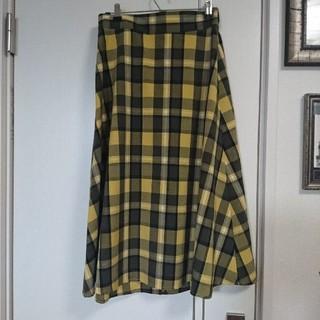 GU - チエック柄スカート