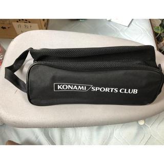 コナミ(KONAMI)の未使用!   KONAMI   SPORTS CLUB   シューズバッグ?(その他)