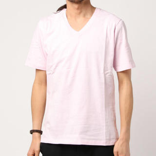 メンズビギ(MEN'S BIGI)の新品 BIGI オーガニック Vネック Tシャツ(Tシャツ/カットソー(半袖/袖なし))