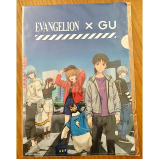 エヴァンゲリオン GU  非売品 クリアファイル