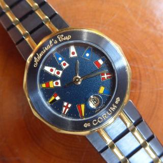 コルム(CORUM)のコルム ・アドミラルズカップ ガンブルー レディース クォーツ(腕時計)