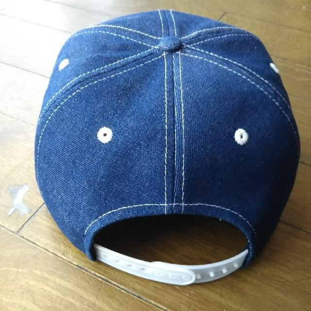 NATAL DESIGN(ネイタルデザイン)のネイタルデザイン キャップ デニム インディゴ  メンズの帽子(キャップ)の商品写真