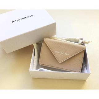 バレンシアガ(Balenciaga)の新品バレンシアガ ペーパーミニウォレット✨parisロゴ入り✨レア(財布)