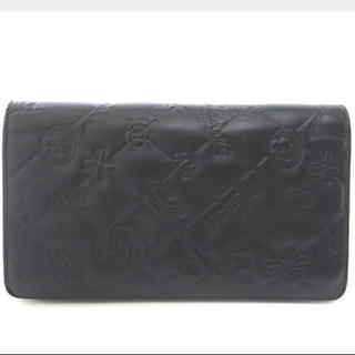 シャネル(CHANEL)のCHANEL 長財布 折り財布 カーフレザー アイコン シンボルチャーム(財布)