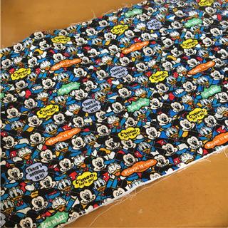 Disney - はぎれ☺︎ ミッキー キルティング 100×28