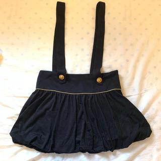ジェーアイマックス(Ji.maxx)のサスペンダー付きスカート(ミニスカート)
