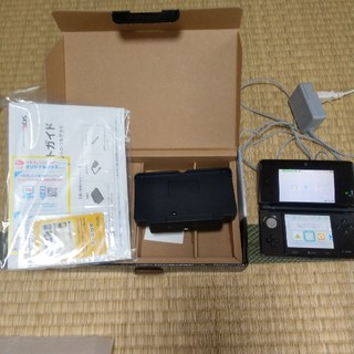 ニンテンドー3DS(ニンテンドー3DS)のニンテンドー3DS コスモブラック(携帯用ゲーム本体)