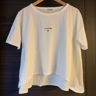 クーム(Coomb)のCOOMB ロングテールロゴTシャツ(Tシャツ(半袖/袖なし))