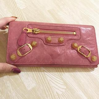 バレンシアガ(Balenciaga)のBALENCIAGA 財布 ピンク(財布)