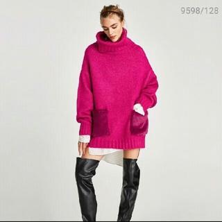 ZARA - ZARA ポケット付きセーター