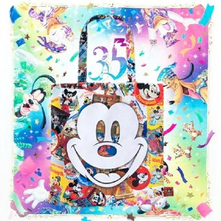 Disney - ミッキー トートバッグ エコバッグ 90周年
