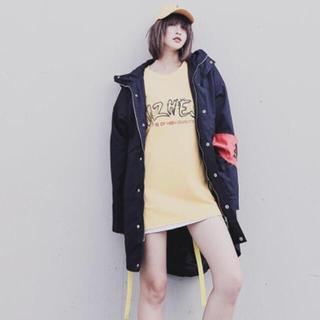 日本未入荷 フード付きコート ジャケット ストリート 韓国系 オーバーシルエット(ナイロンジャケット)