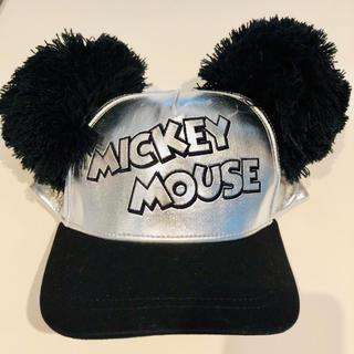 Disney - ミッキーポンポン付きキャップ🧢