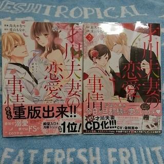 【美品】TLコミック 『才川夫妻の恋愛事情~7年じっくり調教されました~』1&2(女性漫画)