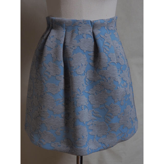 エディグレース(EDDY GRACE)の花柄ミニスカート(ミニスカート)