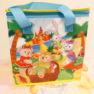 Disney - 香港♡ディズニー♡ダッフィー♡ステラルー♡フルーツ♡保冷バッグ♡マジックアクセス