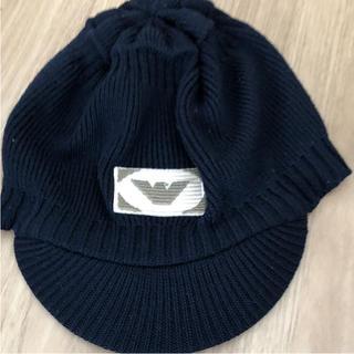 アルマーニ ジュニア(ARMANI JUNIOR)のアルマーニジュニアニットキャップ(帽子)