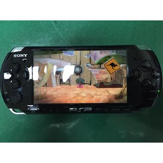 PSP 3000 一式 メモリースティック4G+リトルビッグプラネット(携帯用ゲーム本体)