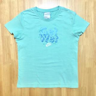 ナイキ(NIKE)の【NIKE】 ナイキ Tシャツ Lサイズ 綿100% グリーン (Tシャツ(半袖/袖なし))