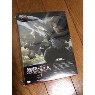 【初回限定版】進撃の巨人 Season 3 第一巻  [DVD]