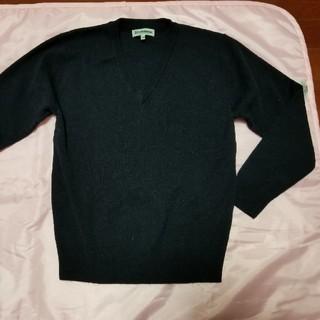 シマムラ(しまむら)のあゆさま専用 紺 150  セーター Vネック(ニット)
