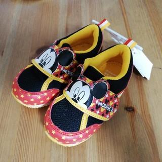 ディズニー(Disney)のミッキー ベビー靴(スニーカー)