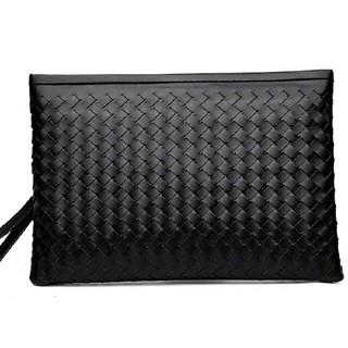 セカンドバック クラッチバック 大容量 綺麗なメッシュ編込み 送料無料 大型(セカンドバッグ/クラッチバッグ)