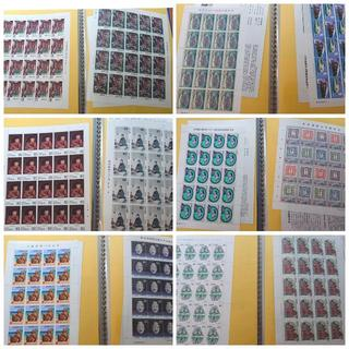 【額面 97,129円】未使用記念切手 シート・バラ(切手/官製はがき)