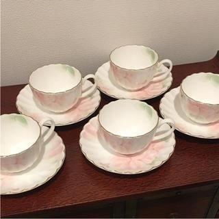 ニッコー(NIKKO)のNIKKO ボーンチャイナ  ティーカップ&ソーサー(食器)