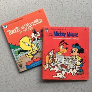 ディズニー(Disney)の【海外絵本】ディズニー TELL-A-TALE BOOKS(2冊セット)(洋書)