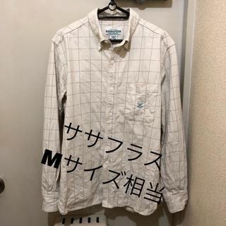 ササフラス(SASSAFRAS)のM相当!日本製ササフラス 古着長袖ボタンダウンシャツ  sassafras(シャツ)