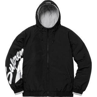 シュプリーム(Supreme)のL Sleeve Script Sideline Jacket (ダウンジャケット)
