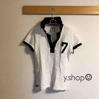 モエリー(MOERY)の¥5,800購入 moerysports モエスポ No.7イタリアポロシャツ(ポロシャツ)