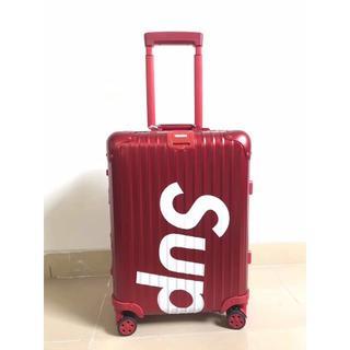 Supreme - シュプリーム リモワ スーツケース レッド 赤