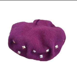 アズールバイマウジー(AZUL by moussy)のAZUL♡ベレー帽(ハンチング/ベレー帽)