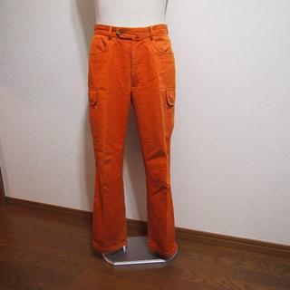 インコテックス(INCOTEX)の良品!インコテックス コットンカーゴパンツ46 オレンジ(ワークパンツ/カーゴパンツ)