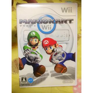 ウィー(Wii)のwii マリオカート ジャンク(家庭用ゲームソフト)