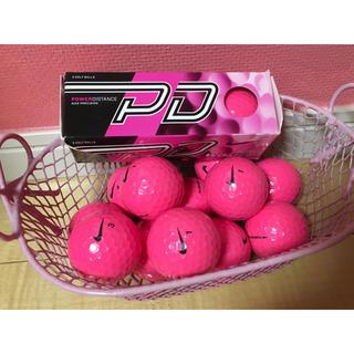 ナイキ(NIKE)のナイキ ゴルフボール(未使用)15個:ピンク(ゴルフ)