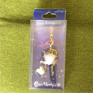ディズニー(Disney)のポット夫人 ☆ land(ストラップ/イヤホンジャック)