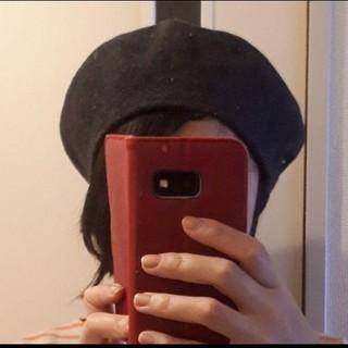 ベレー帽 グレー(ハンチング/ベレー帽)