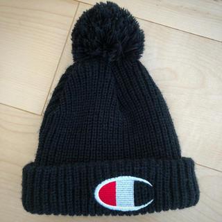 シマムラ(しまむら)の52cm チャンピオン ✩ ベビーニット帽(帽子)